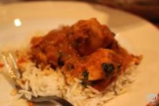 Chicken Vindaloo Curry w/ Saffron Rice