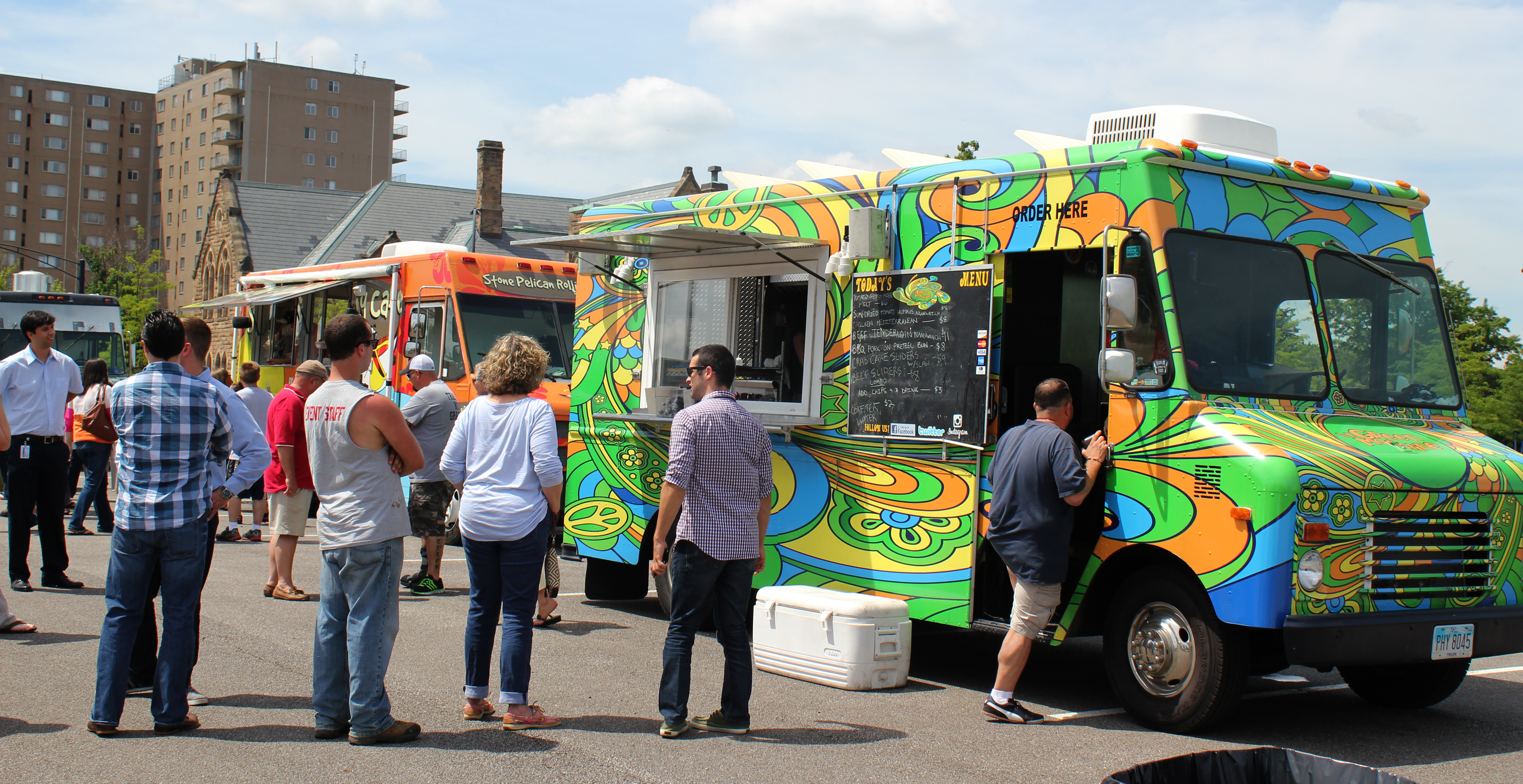Akron Food Truck Friday